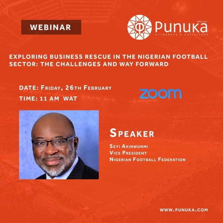 Exploring Business Rescue in Nigerian Football Sector